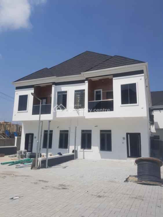 4 Bedrooms Semi Detached Duplex with a Bq, Off Orchid Hotel Road, By Chevron Tollgate, Lekki, Lagos, Semi-detached Duplex for Sale