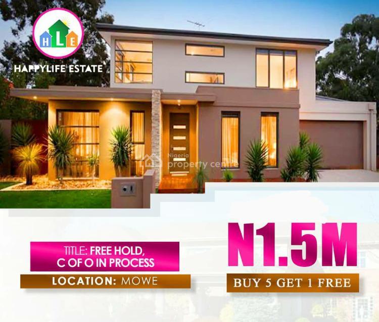 Happy Life Estate, Mowe Ofada, Ogun, Residential Land for Sale