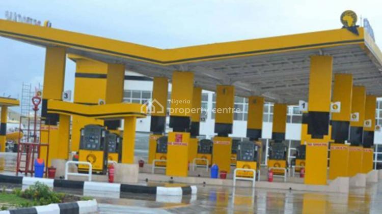 Filling Station with Office Block, Supermarket and Lube, Lekki-epe Expressway Lekki, Sangotedo, Ajah, Lagos, Filling Station for Sale