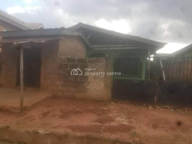 3 Bedroom Bungalow with 3 Self Contained and a Store, No34 Ighileko Street Ogbeson Quarter Agbor Park Ikpoba Hill Benin City, Ikpoba Okha, Edo, Mini Flat for Sale