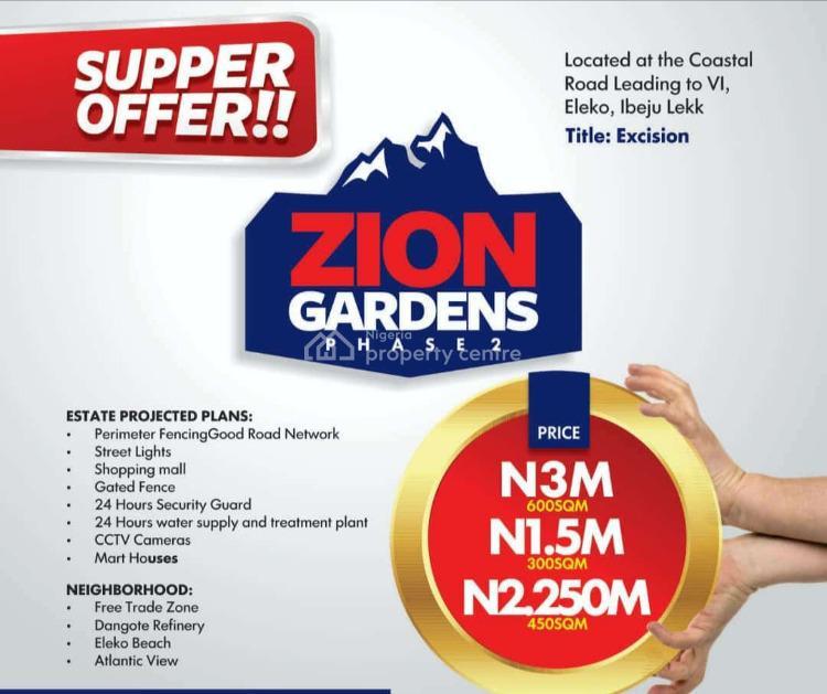 Excision, Eleko, Ibeju Lekki, Lagos, Mixed-use Land for Sale