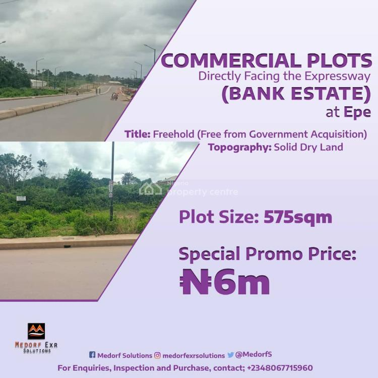 Luxury Commercial Land Facing Expressway, Epe, Lagos, Commercial Land for Sale