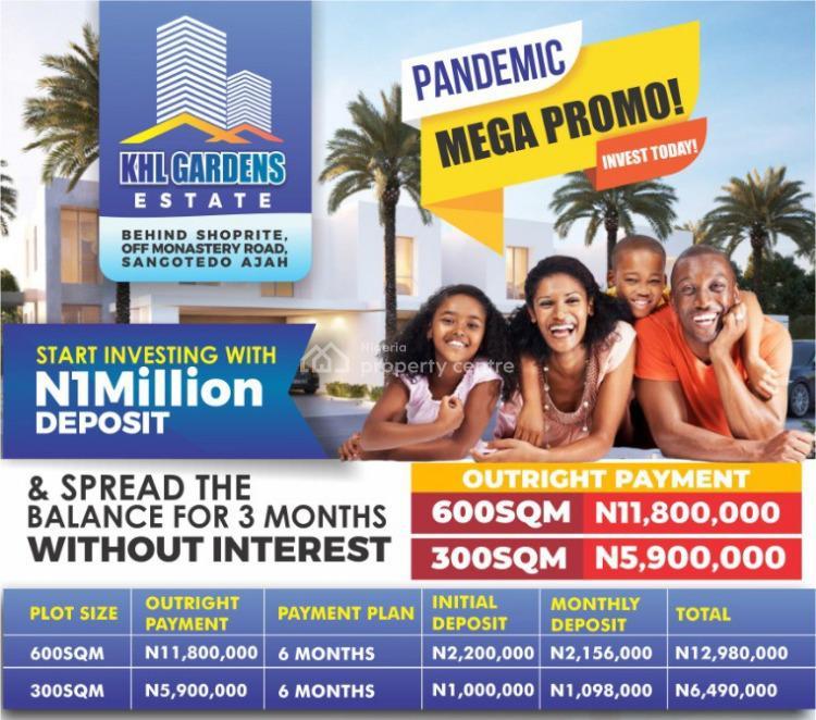 Estate Land, Behind Shoprite C of. O, Sangotedo, Ajah, Lagos, Residential Land for Sale
