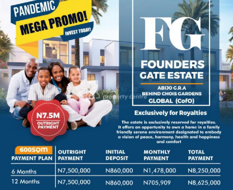 Estate   Land, Abijo Gra C of O, Sangotedo, Ajah, Lagos, Land for Sale