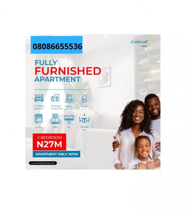 Fully Furnished 2 Bedroom Apartments, Fully Furnished 2 Bedroom Apartments Near Shoprite Abijo Gra, Lekki Phase 2, Lekki, Lagos, Block of Flats for Sale