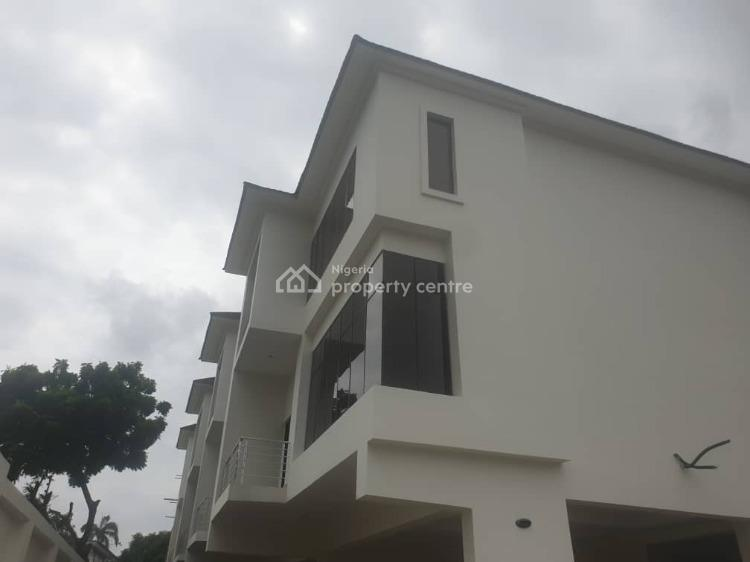 Brand New Four Units of 4-bedroom Terraces with 4 Car Park Spaces, Close to 1004 Flats, Victoria Island (vi), Lagos, Terraced Duplex for Sale
