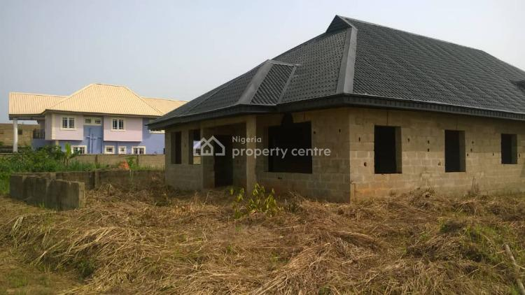 Uncompleted Fully Roofed  4 Bedroom Bungalow, Golden Heritage Estate, Mowe, Obafemi Owode, Ogun, Detached Bungalow for Sale