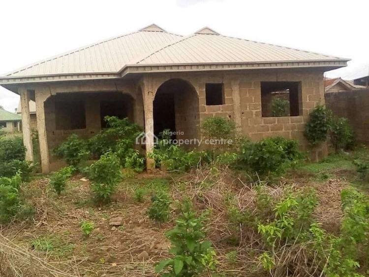 Uncompleted 4 Bedrooms Bungalow, Orita Odan, Olodo, Ibadan, Oyo, Detached Bungalow for Sale