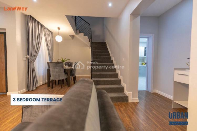3 Bedroom Terrace, Abraham Adesanya, Ogombo, Ajah, Lagos, Terraced Duplex for Sale