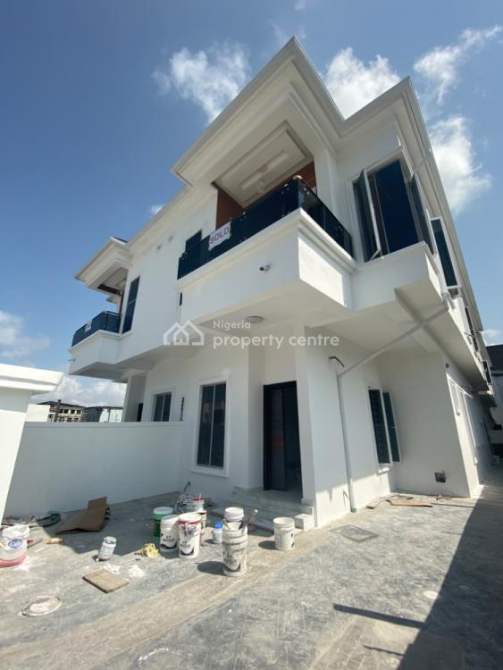 Brand New 4 Bedroom Semi Detached Duplex with B.q, By Lekki 2nd Toll Gate, Lekki, Lagos, Semi-detached Duplex for Rent