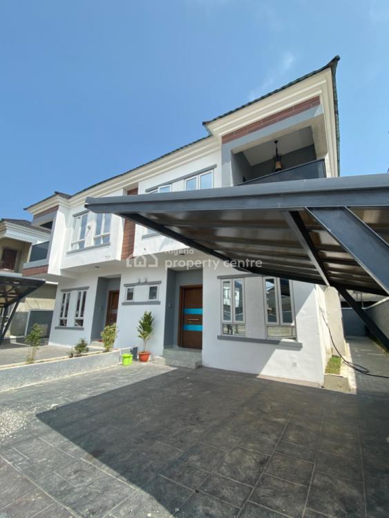 Fully Serviced 4 Bedroom Semi Detached Duplex with B.q, Ikate, Lekki, Lagos, Semi-detached Duplex for Sale
