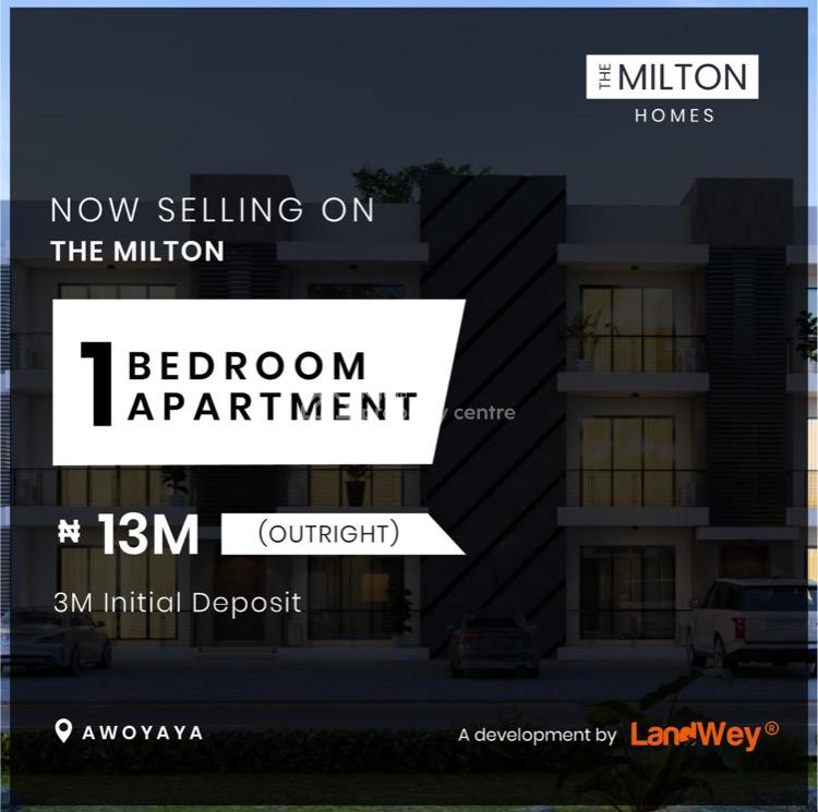 1 Bedroom Apartment, Caleb British Int School, Awoyaya, Ibeju Lekki, Lagos, Block of Flats for Sale