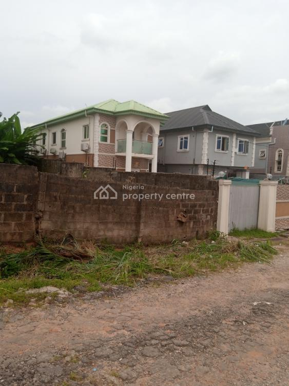 Full Plot of Land Fenced Round (dry Land), Private Estate Near Isecom, Opic, Isheri North, Lagos, Residential Land for Sale