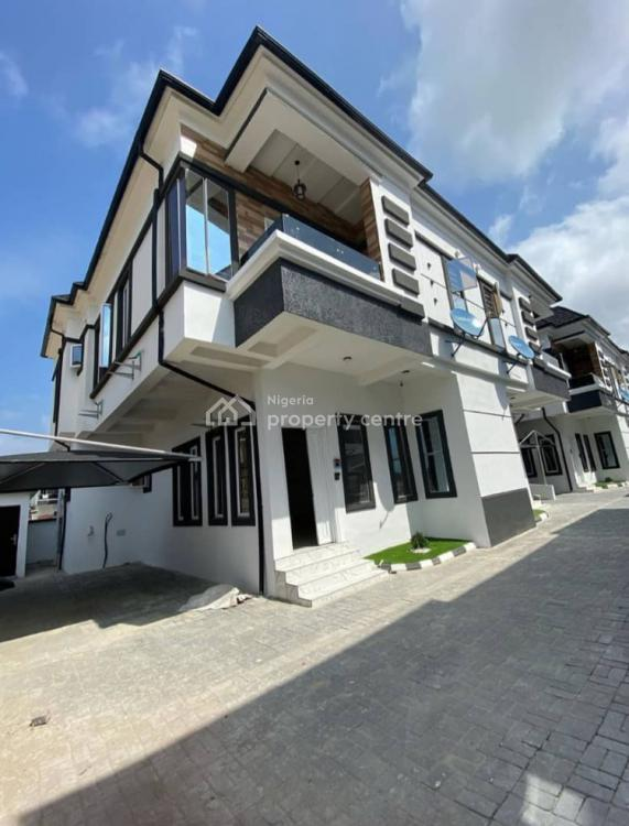 Newly Built 4 Bedroon Duplex with a Bq, Orchid Road, Ikota, Lekki, Lagos, Semi-detached Duplex for Sale
