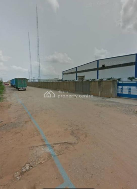 2 Plots of Corner Piece Land with Borehole on It, Patedo Around Gz Industry, Agbara, Ogun, Mixed-use Land for Sale