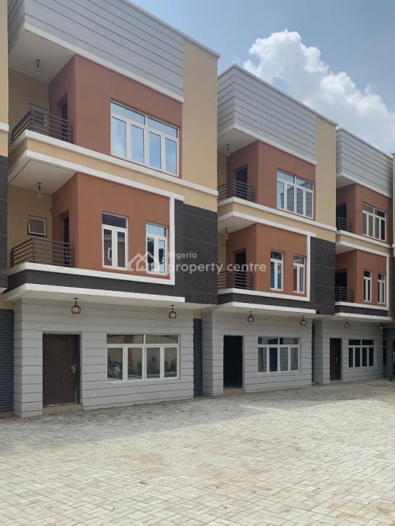 Newly Built 4 Bedrooms Terrace Duplex, Jahi, Abuja, Detached Duplex for Sale