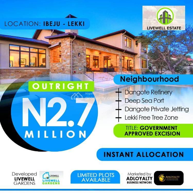 Dry Residential Lands, Ibeju Lekki, Lagos, Residential Land for Sale