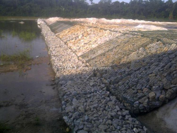Lagoon, Lake and Creek View Man Made Island, Close to Novare Mall, Sangotedo, Ajah, Lagos, Residential Land for Sale