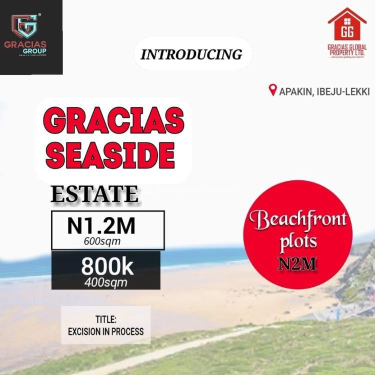 Gracias Seaside Estate Ibeju Lekki, Gracias Seaside Estate Ibeju Lekki, Apakin, Ibeju Lekki, Lagos, Residential Land for Sale