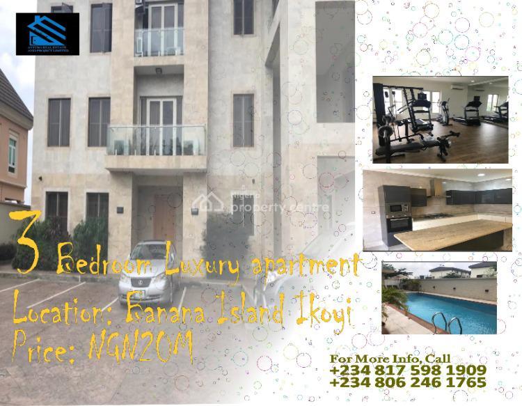 3 Bedroom Luxury Apartment, Banana Island, Ikoyi, Lagos, House for Rent