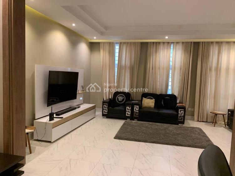 State-of-the-art Furnished 3 Bedrooms Bungalow with a Bq, By The Round About, Galadimawa, Abuja, Detached Bungalow for Sale