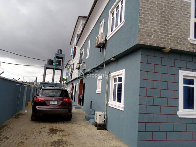 Building of Seven Units of Three Bedroom Apartments, Jakande Isolo, Oke Afa, Isolo, Lagos, Block of Flats for Sale