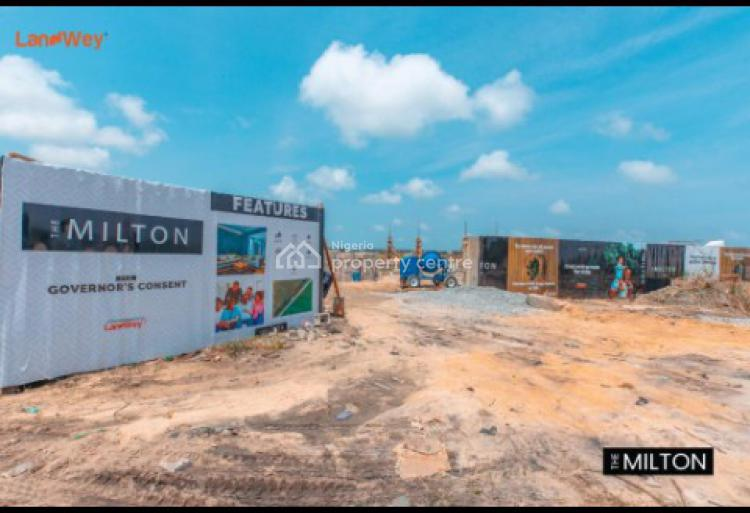 Sophisticated & Luxurious Land Space with Fast Development, The Milton, Awoyaya, Lekki, Lagos, Land for Sale