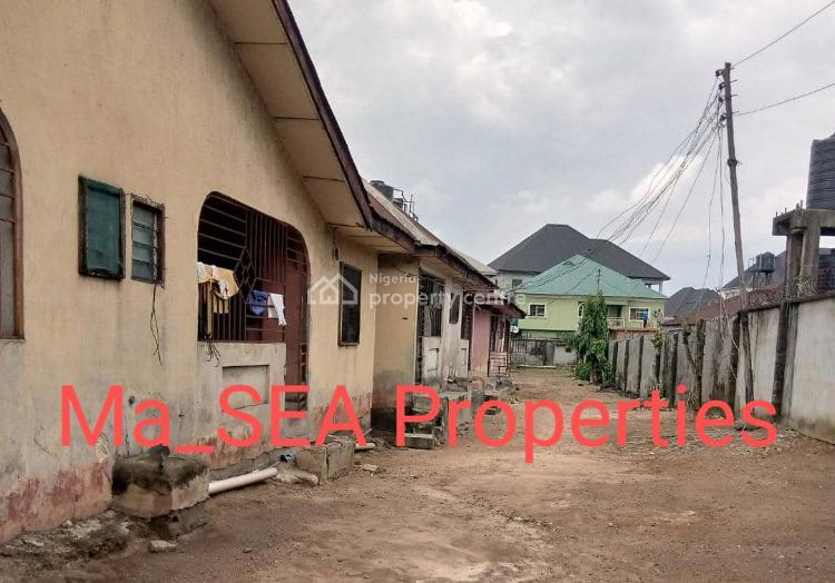 3 Plot of Land with Block of Flat., Area, Woji, Port Harcourt, Rivers, Residential Land for Sale