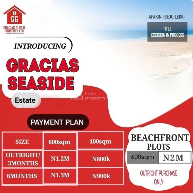 Land, Gracias  Seaside Estate, Ibeju Lekki, Lagos, Residential Land for Sale