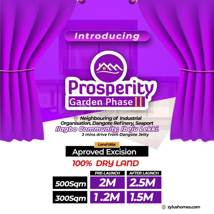 Plot of Land., Prosperity Garden Phase 2, Oniyanrin/ilagbo Community., Ibeju Lekki, Lagos, Land for Sale