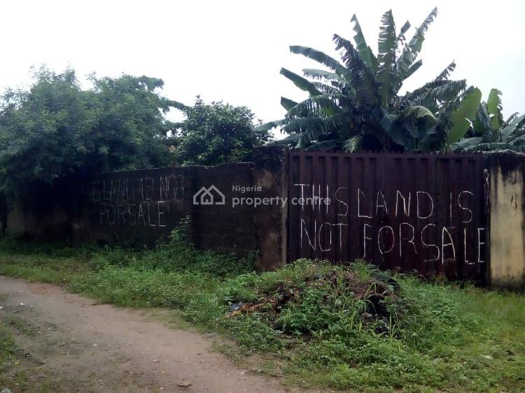 2 Plots of Land (separate), Off Daddy Savage Road, Fagba, Agege, Lagos, Residential Land for Sale