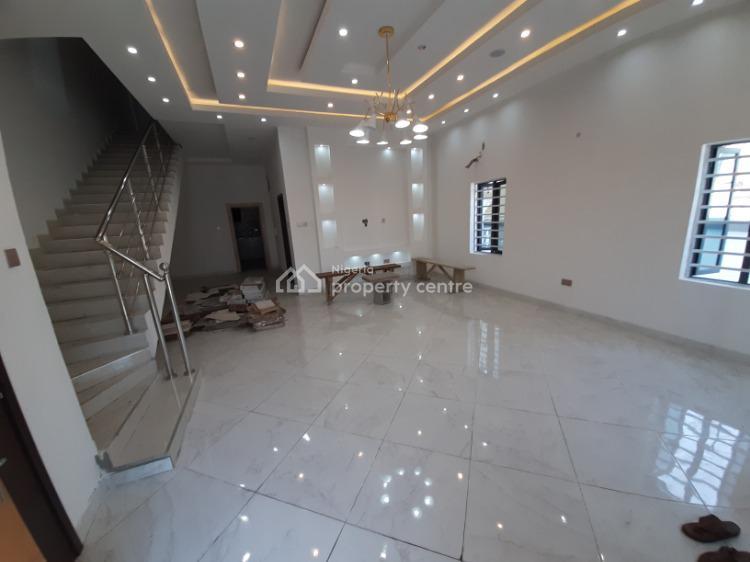 4 Bedroom En-suite Semi-detached Duplex with a Bq, Chevron, Lekki, Lagos, Semi-detached Duplex for Sale