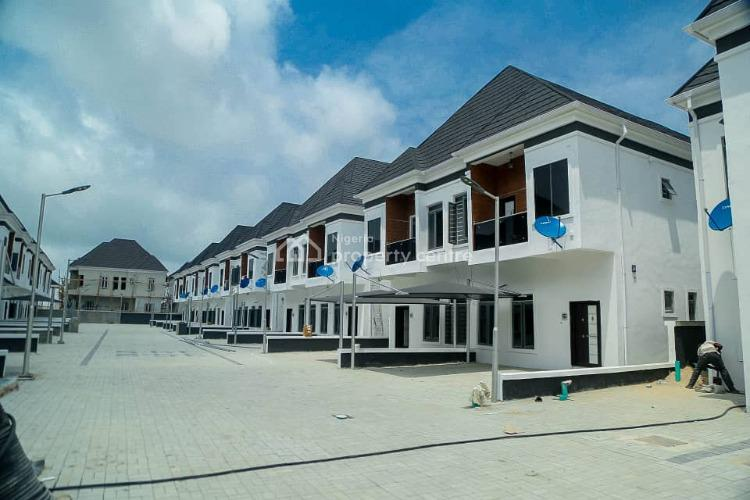 Fully Serviced 4 Bedroom Terraced Duplex, Orchid Road By Second Toll Gate, Lekki, Lagos, Terraced Duplex for Rent
