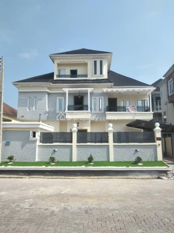 Luxury 5 Bedrooms Detached Duplex + 1 Room Bq + Swimming Pool, Lekki Expressway, Lekki, Lagos, Detached Duplex for Sale