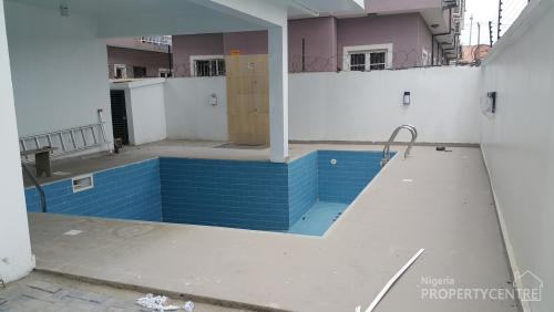 For Sale Brand New And Magnificently Finished 5 Bedroom House With Swimming Pool Lekki Phase 1