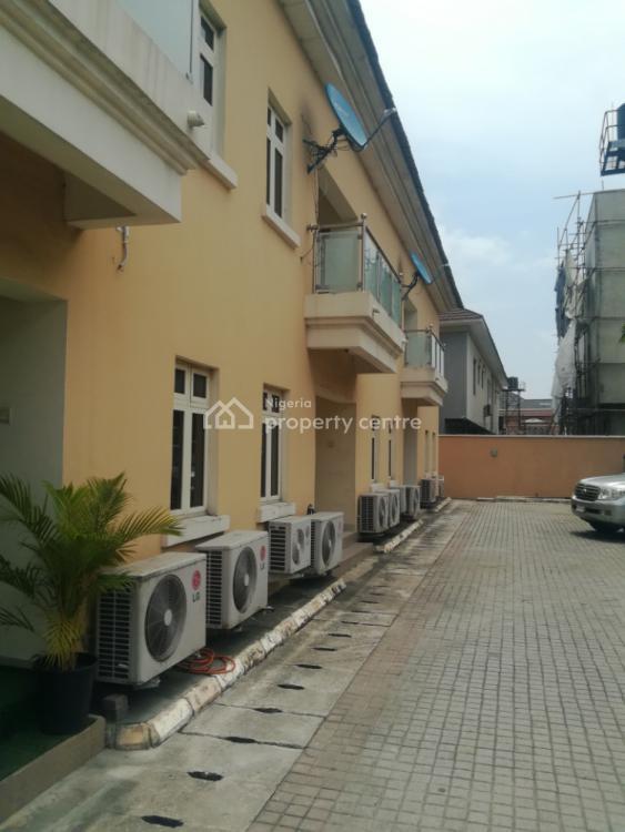 3 Bedroom Terraced Duplex, Off Freedom Way, Lekki Phase 1, Lekki, Lagos, Terraced Duplex for Rent