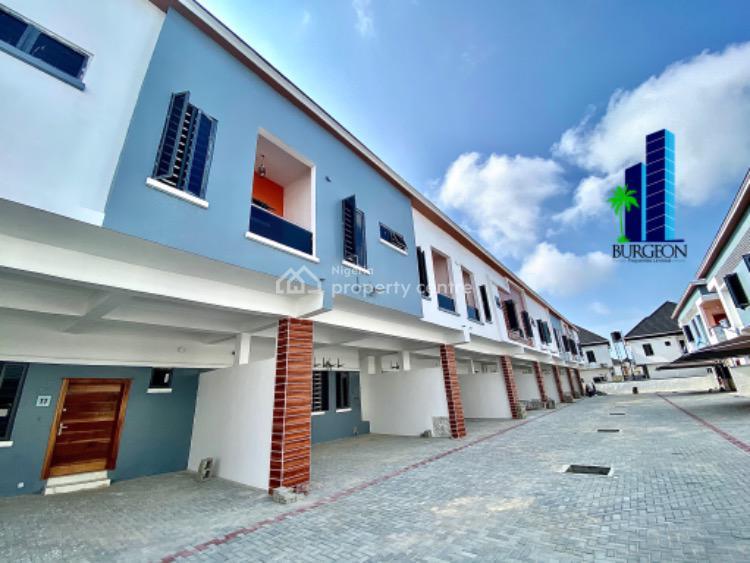 Brand New 4 Bedrooms Terrace Duplex +1bq, Chevron, Lekki, Lagos, Terraced Duplex for Sale