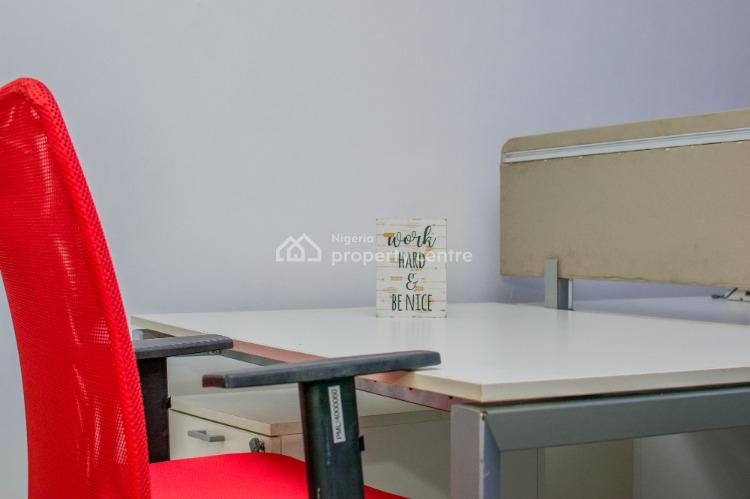 Work Station / Dedicated Desk Space, 26 Akin Leigh Street, Lekki Phase 1, Lekki, Lagos, Commercial Property Short Let