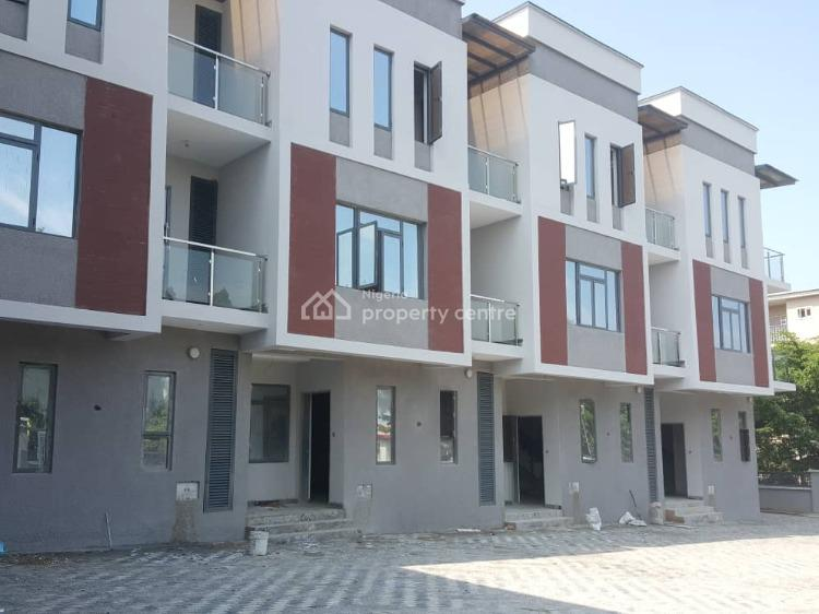 5 Units of 4 Bedroom Terraced Duplex with a Room Bq Each, Jabi, Abuja, Terraced Duplex for Sale