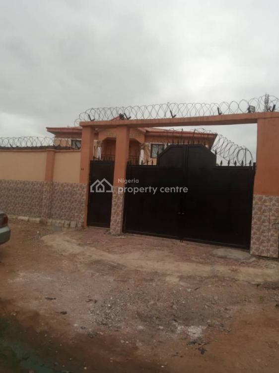 Block of 5 Bedrooms Duplex with 2 and 3 Bedroom Flats, Behind Uba, Ibafo, Ogun, Detached Duplex for Sale