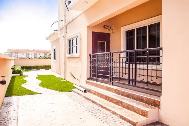 4 Bedroom Detached Duplex with 2 Rooms Bq, Study and Laundry Room, Royal Garden Estate, Ajah, Lagos, Detached Duplex for Sale