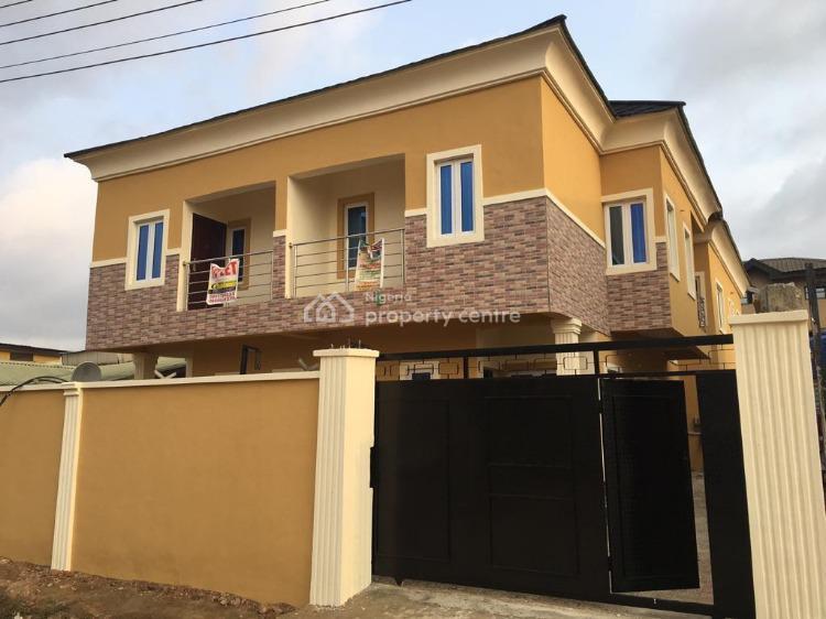 Well Built 4 Bedroom Semi Detached House with Bq, Sparklight Estate Opic, Obafemi Owode, Ogun, Semi-detached Duplex for Sale