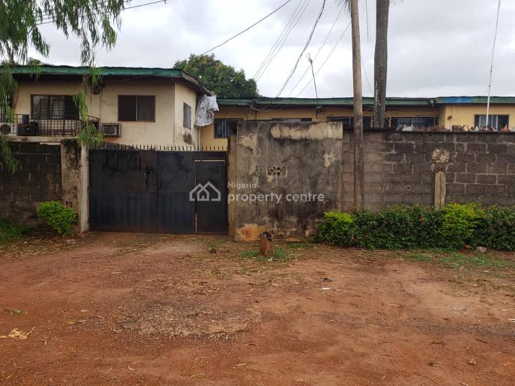 Standard 6 Plots of Land with Old Twin Duplexes, Alinta Close Off Nza Street, Independence Layout, Enugu, Enugu, Mixed-use Land for Sale