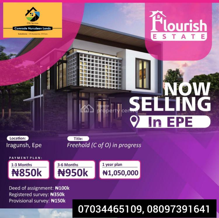 Affordable Plots of Land, Cielo Flourish Estate, Behind Mike Otedola Estate, Epe, Lagos, Mixed-use Land for Sale