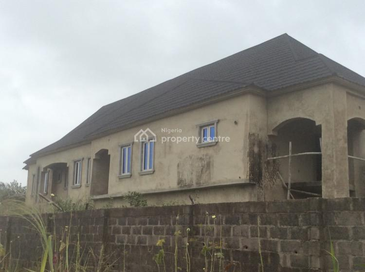 Uncompleted 5 Bedrooms Duplex with Attached 2 Unit of 3 Bedrooms Flat, Igbo-agbowa By National Oil Estate, Off Ibeshe Road, Ebute, Ikorodu, Lagos, Detached Duplex for Sale
