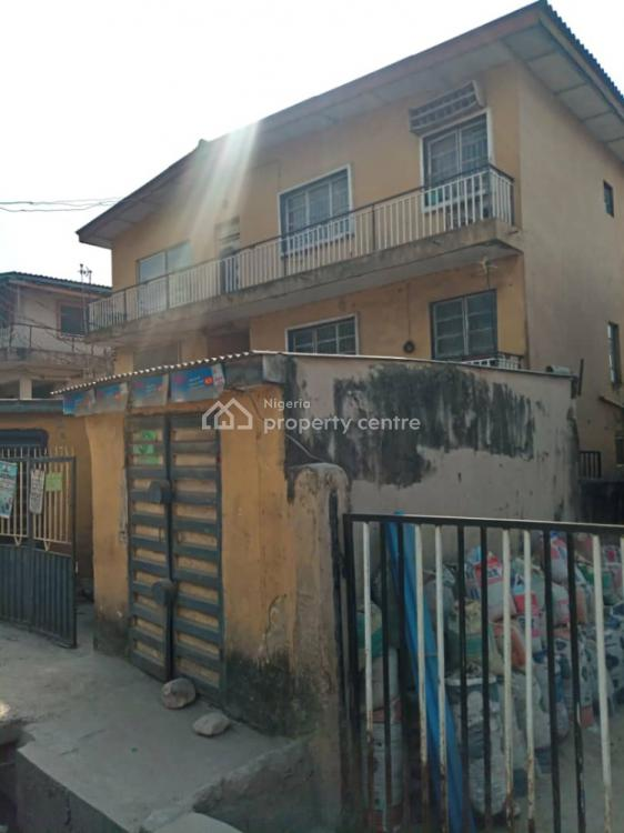 Two Story Building of 4 and 3 Bedroom Flats with 8 Numbers of Mini Flats, Oriola Road Alapere, Alapere, Ketu, Lagos, Block of Flats for Sale