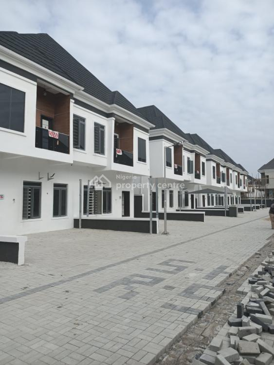 Serviced 4 Bedroom Semi Detached with a Bq, After The 2nd Toll Gate, Lekki Expressway, Lekki, Lagos, Semi-detached Duplex for Sale