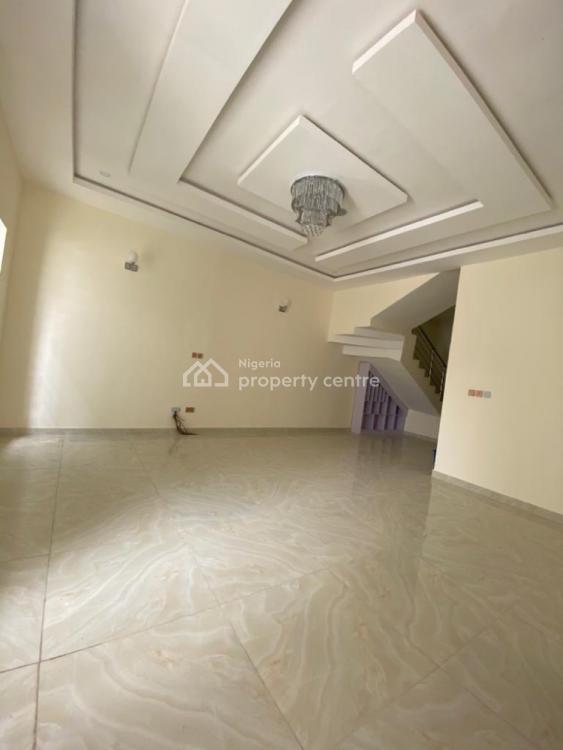 Well Built 4 Bedrooms Semi Detached Duplex with a Room Bq, 2nd Toll Gate, Lekki, Lagos, Semi-detached Duplex for Sale