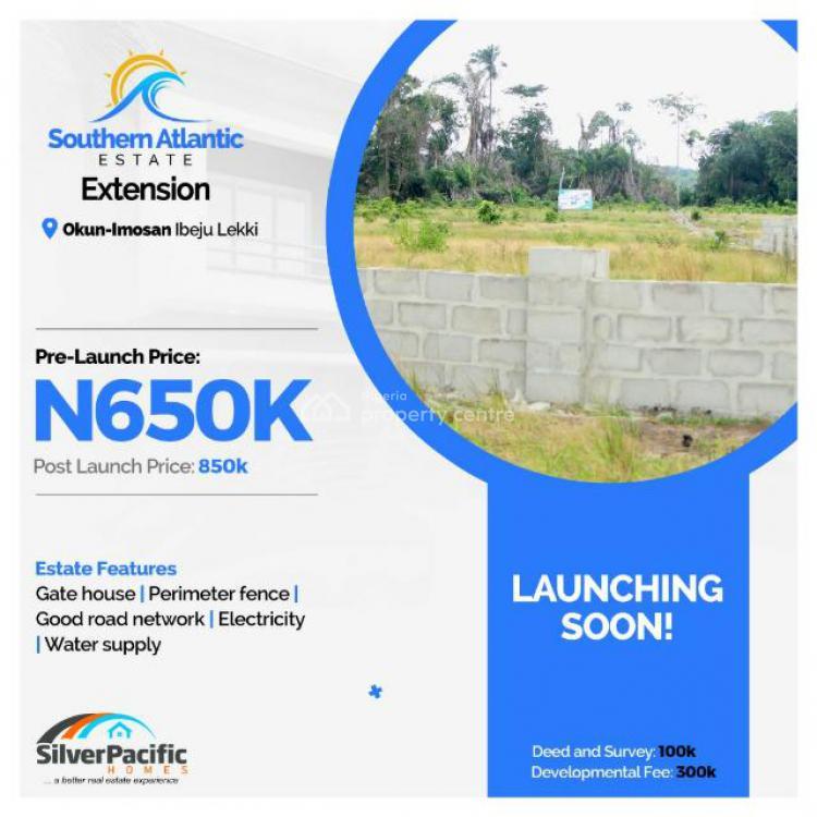 Plot of Land, Southern Atlantic Estate, Okun Imosan, Ibeju Lekki, Lagos, Land for Sale