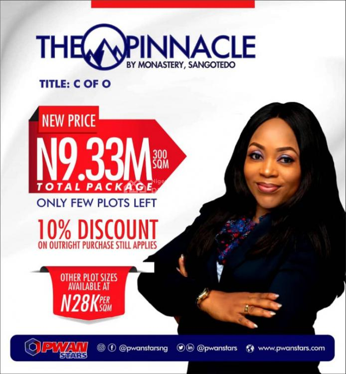 New Plot of Land with C of O, The Pinnacle By Monastery Road, Lekki Expressway, Lekki, Lagos, Mixed-use Land for Sale